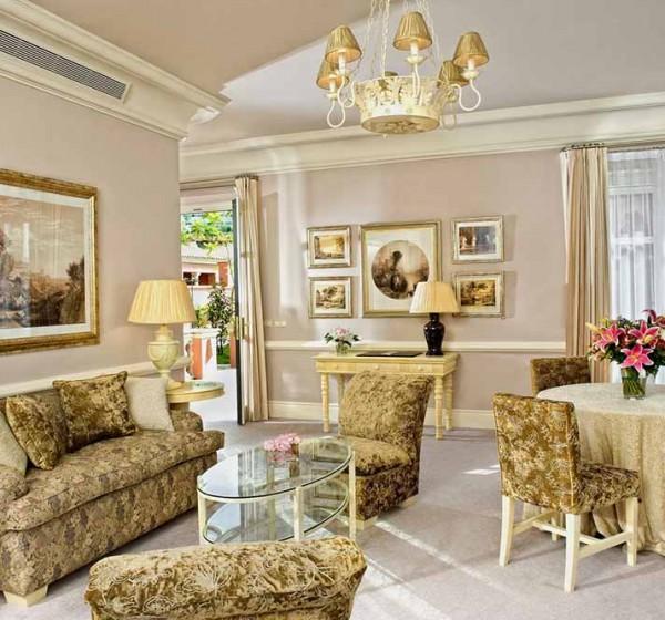 Villa Padierna, villa Opera, living room